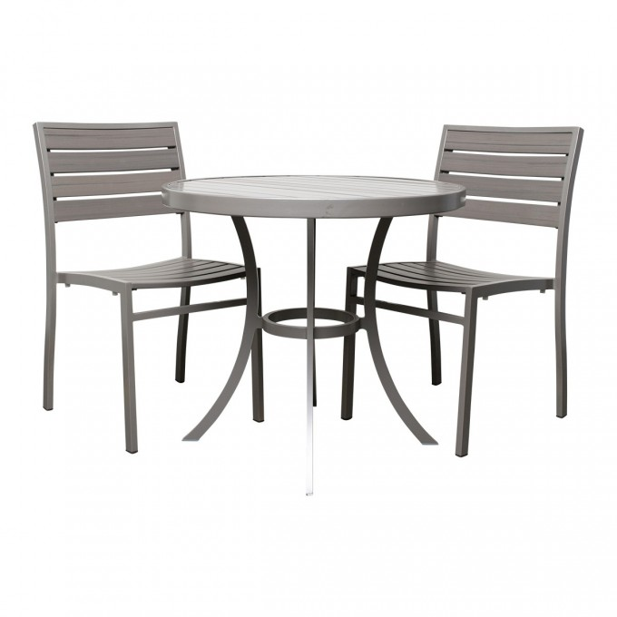 Cool Dining Table Set With Round Table And Chair Set In Two By Janus Et Cie Outdoor Furniture For Outdoor Furniture Ideas