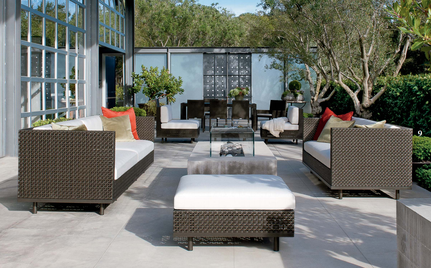 Exterior Design Fill Your Patio With Janus Et Cie Outdoor