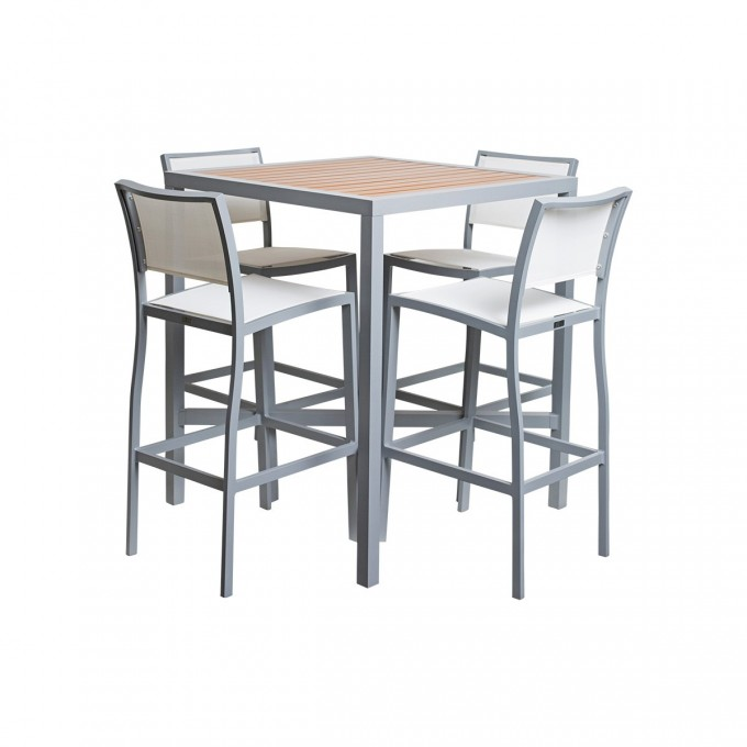Cozy Dining Table Set With Square Table By Janus Et Cie Outdoor Furniture For Outdoor Furniture Ideas