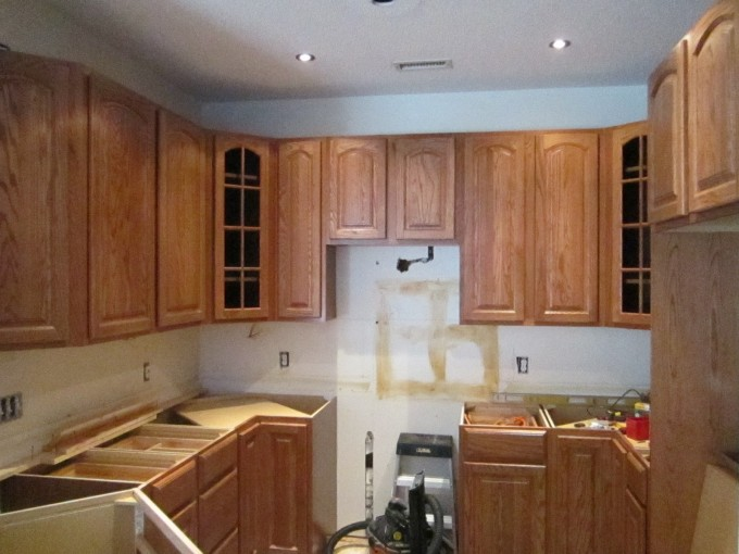 Cozy Kitchen American Woodmark Cabinets On White Wall For Kitchen Decor Ideas