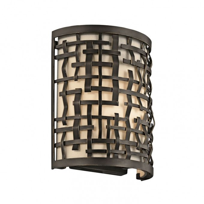 Cozy Loom 1 Light Wall Sconce By Cardello Lighting And Decor For Home Ideas