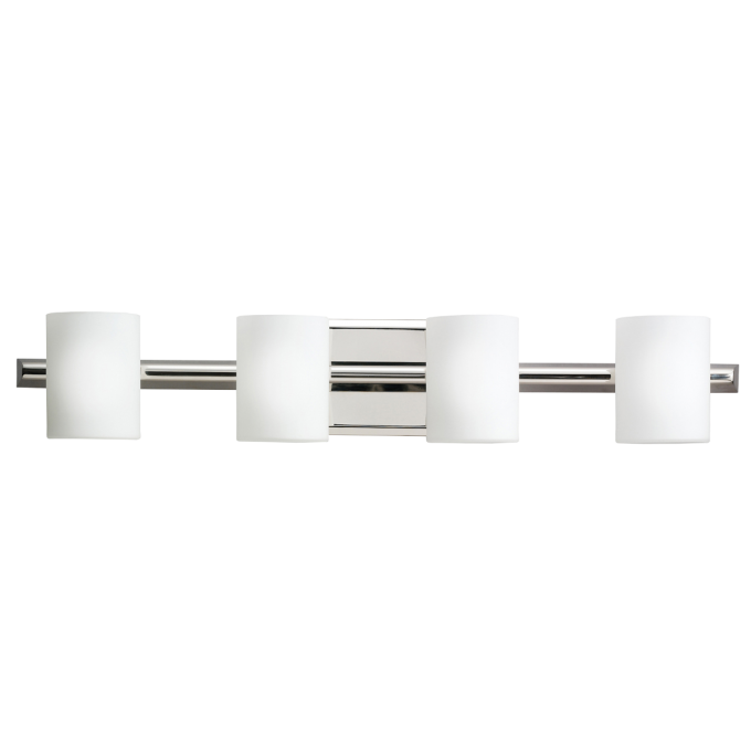 Cozy Tubes 4 Light Halogen Bath Light Polished Nickel By Cardello Lighting And Decor For Home Ideas