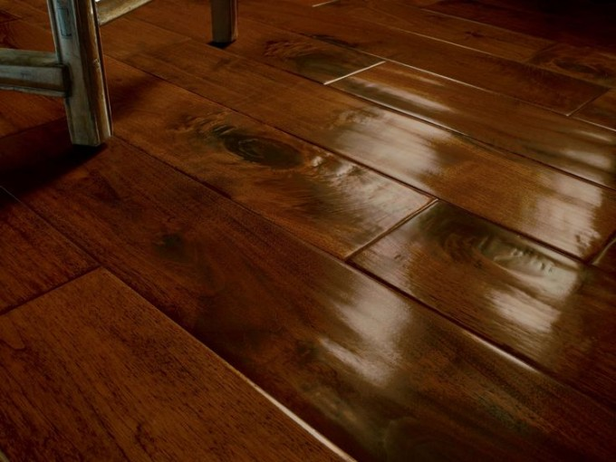 Dark Oak Mahagony Floor By Konecto For Chic Flooring Ideas