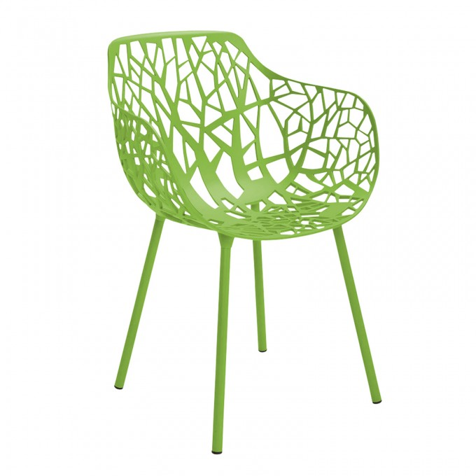 Decorative Metal Chair In Green With Arm By Janus Et Cie Outdoor Furniture For Outdoor Furniture Ideas