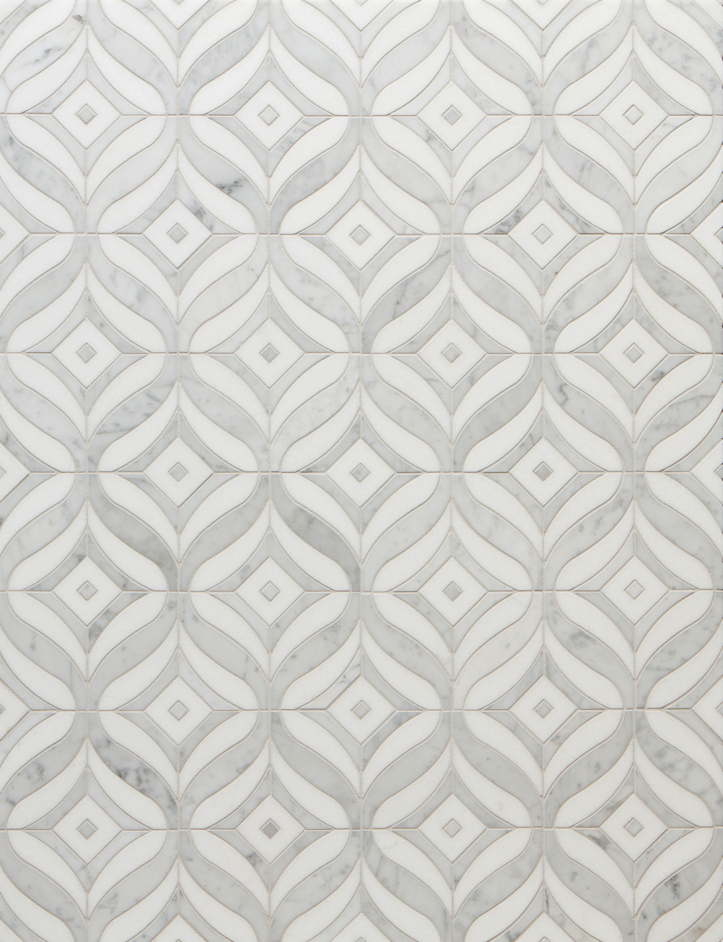decorative stone tiles in white by Walker Zanger for wall decor ideas
