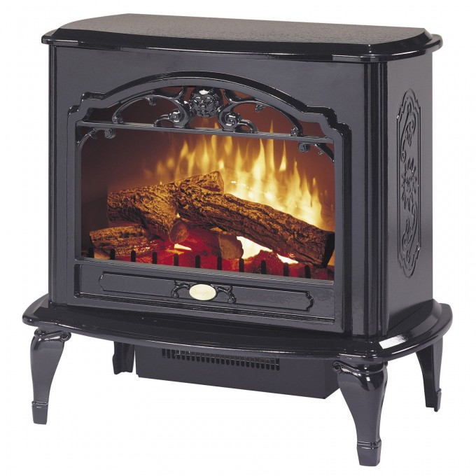Fancy Dimplex Electric Fireplaces In Black With Legs For Heatwarming Ideas
