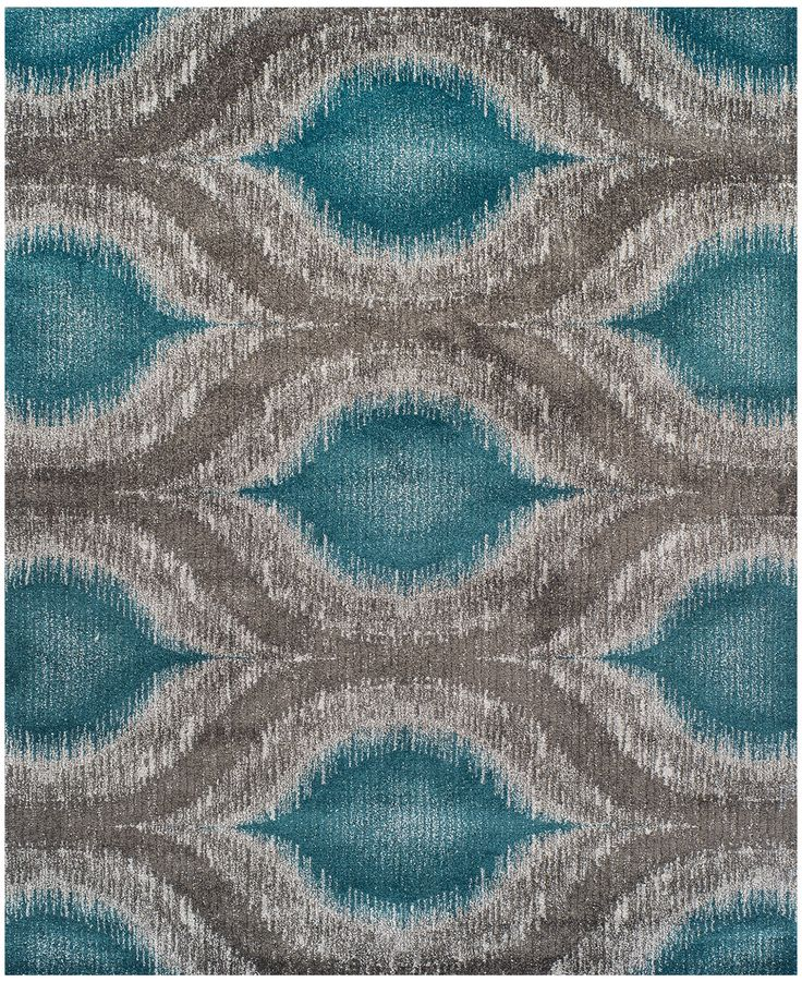 fancy rectangle dalyn rugs in blue and gray color design for floor decor ideas