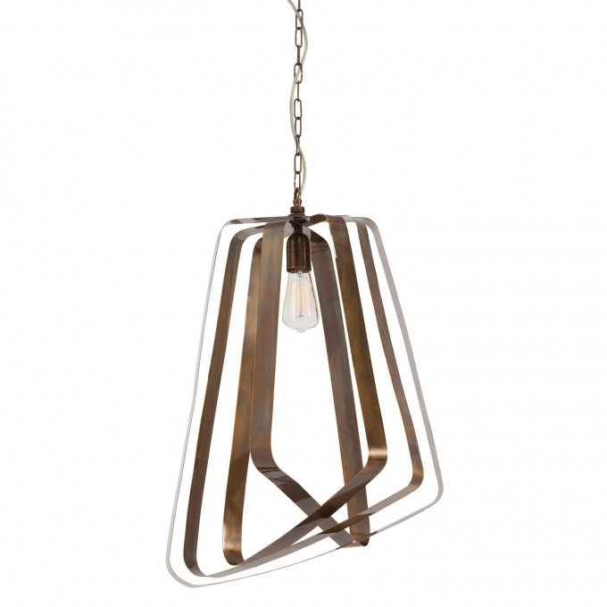 Great Pendant With Unique Geometric Shade And Iron String By Arteriors Lighting For Home Lighting Ideas