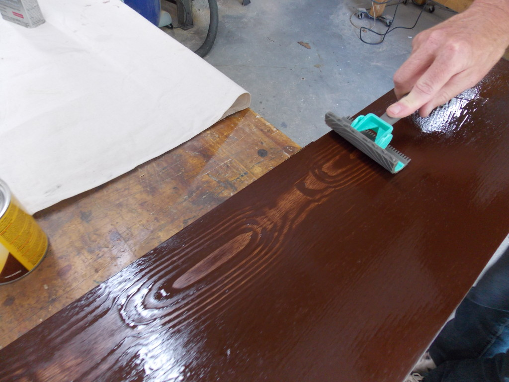 have a good quality wood with minwax gel stain