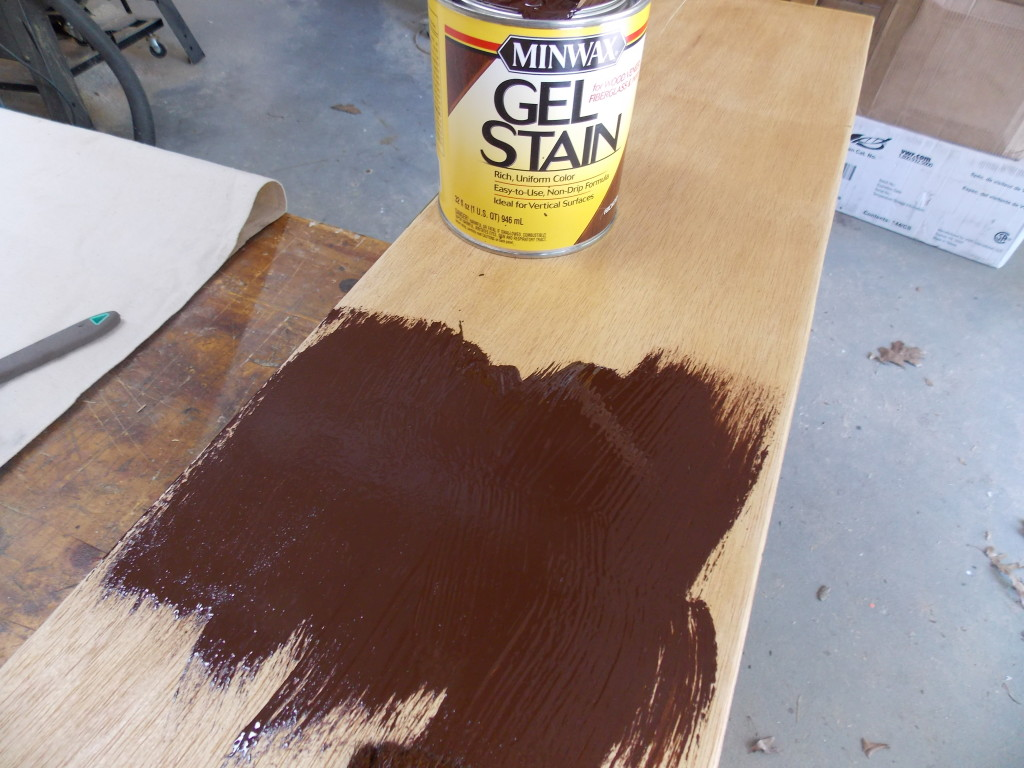 Having Fun With False Graining minwax gel stain