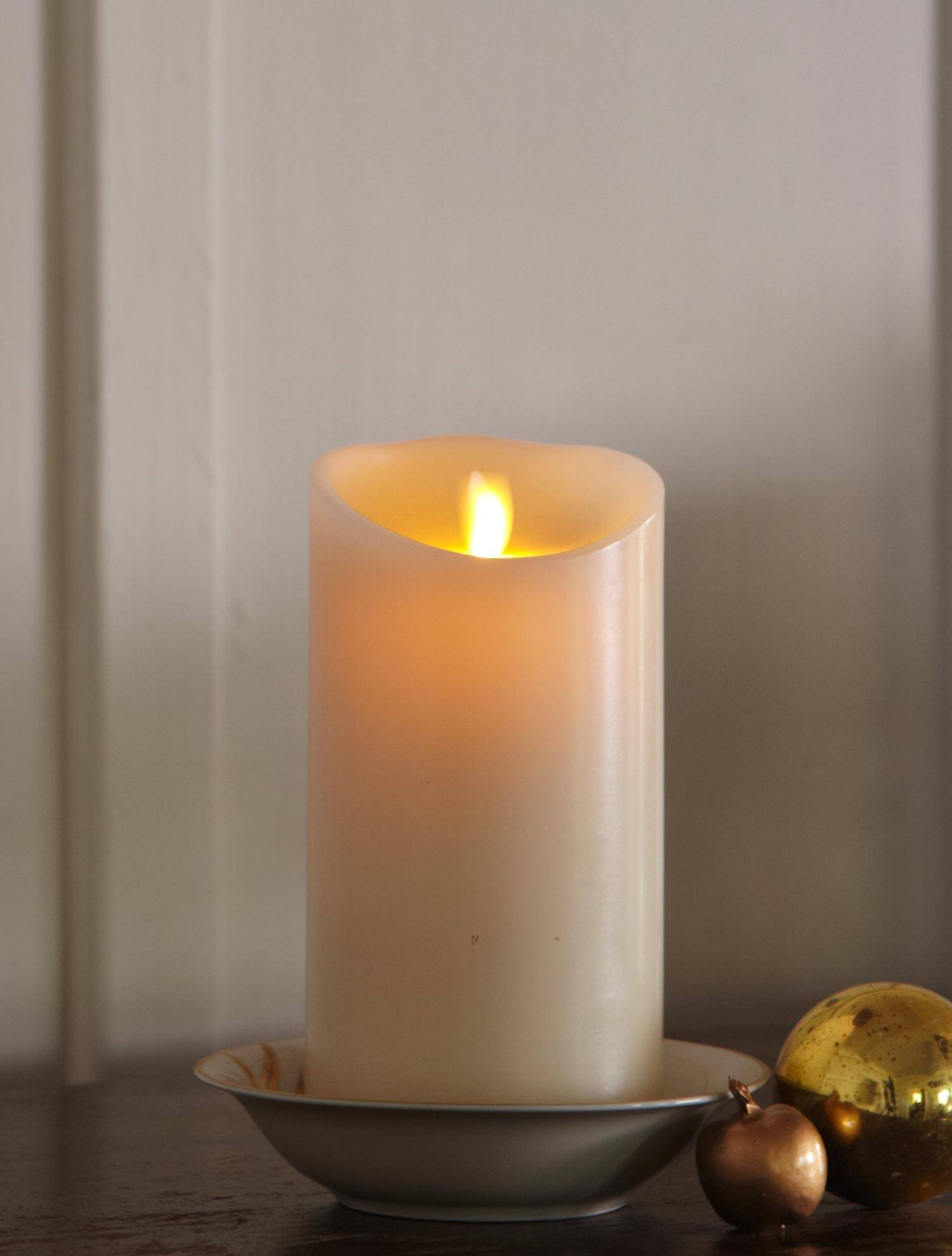 led flameless candles with timer for home decoration ideas