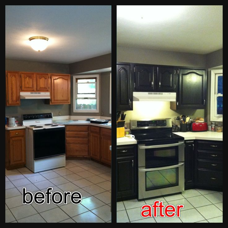 makeover your kitchen cabinet using minwax gel stain to get more wonderful look