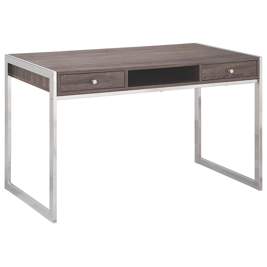 Modern table by eurway furniture with metal stand and drawers for home furniture ideas
