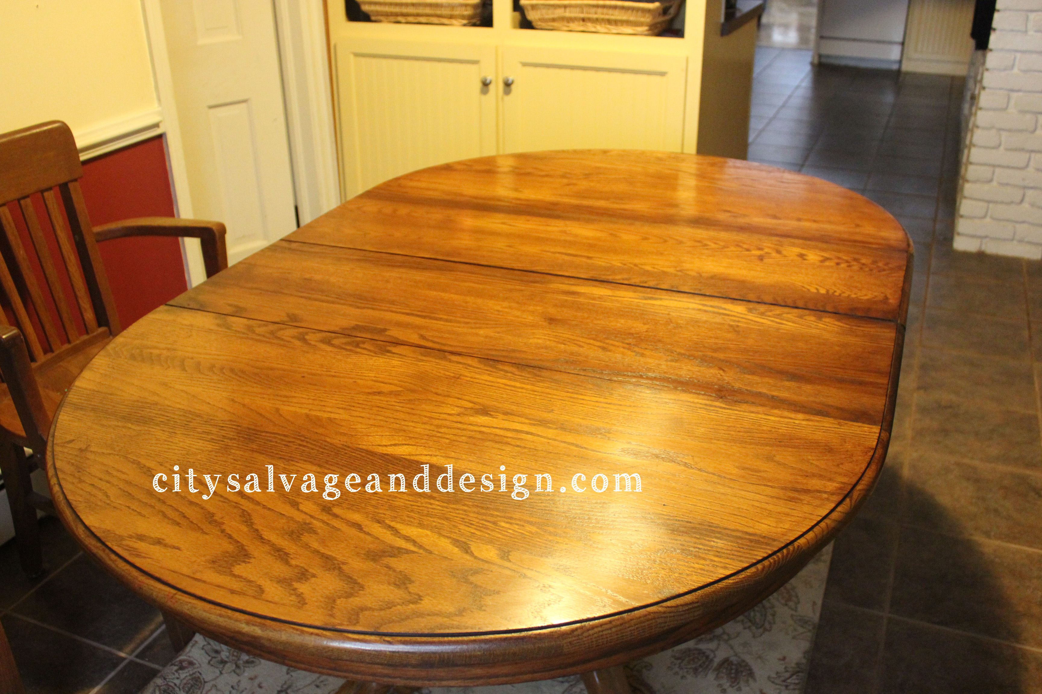 oval wooden dining table using general finishes java gel stain in sandy brown color for home furniture ideas