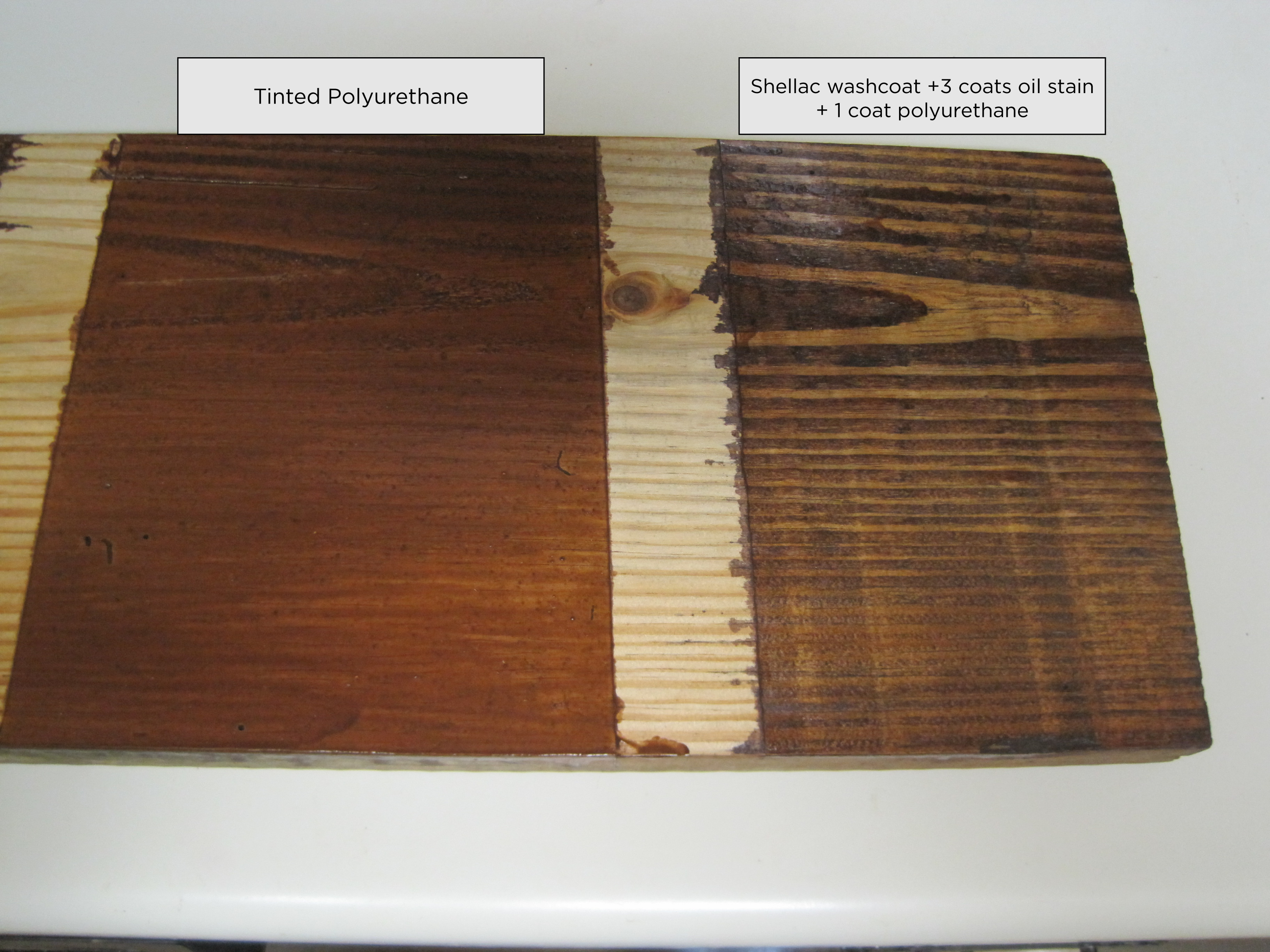 painted your wood using minwax gel stain to get wonderful look