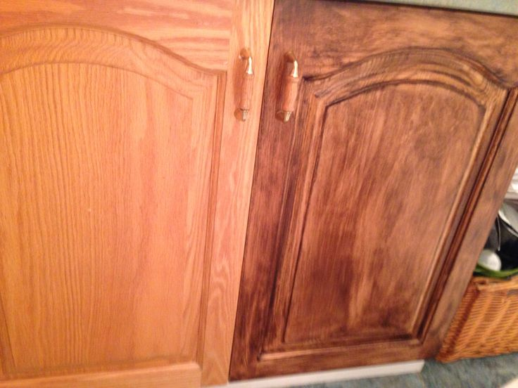 painted your wooden cabinet using minwax gel stain ideas