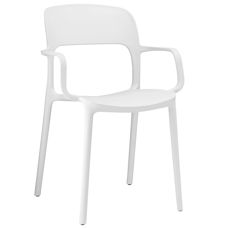 pretty Halen Dining Chair in white with arm by eurway furniture for home furniture ideas