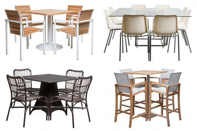 Recommended Dining Table Set By Janus Et Cie Outdoor Furniture For Outdoor Furniture Ideas