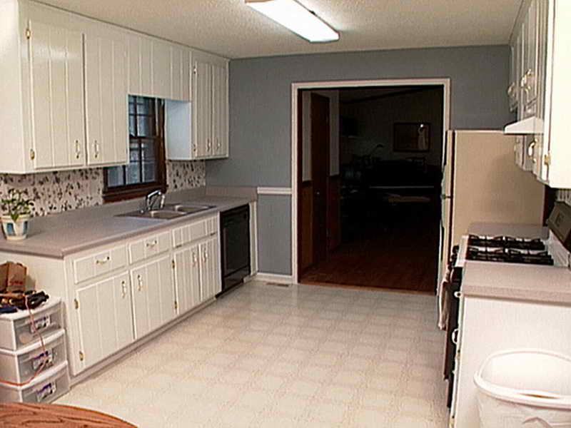 traditional kitchen american woodmark cabinets in white with stove and fridge for kitchen decor ideas