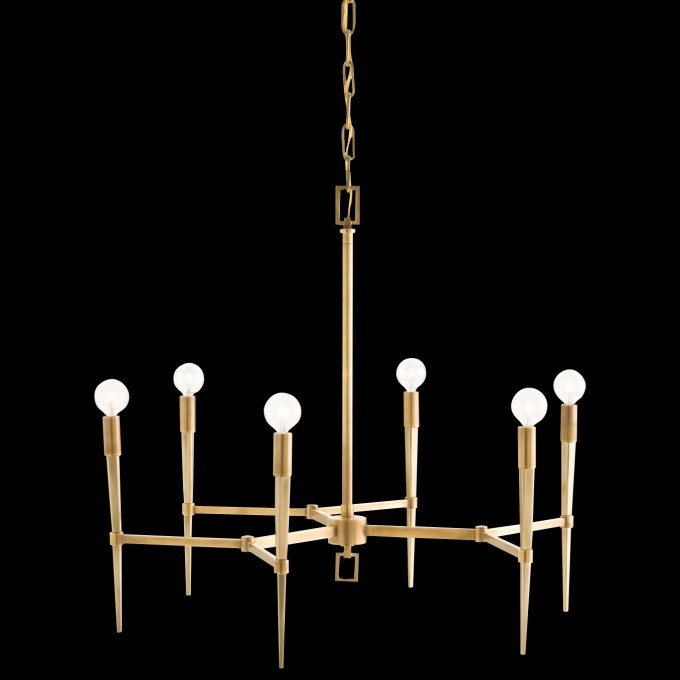 Wonderful Chandelier With Six Light By Arteriors Lighting For Home Lighting Ideas