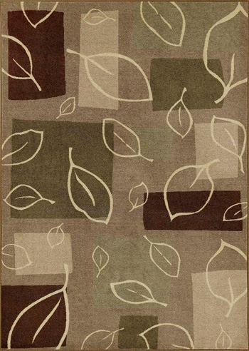 Wonderful Checked Dalyn Rugs With Leaves Motif For Floor Decor Ideas