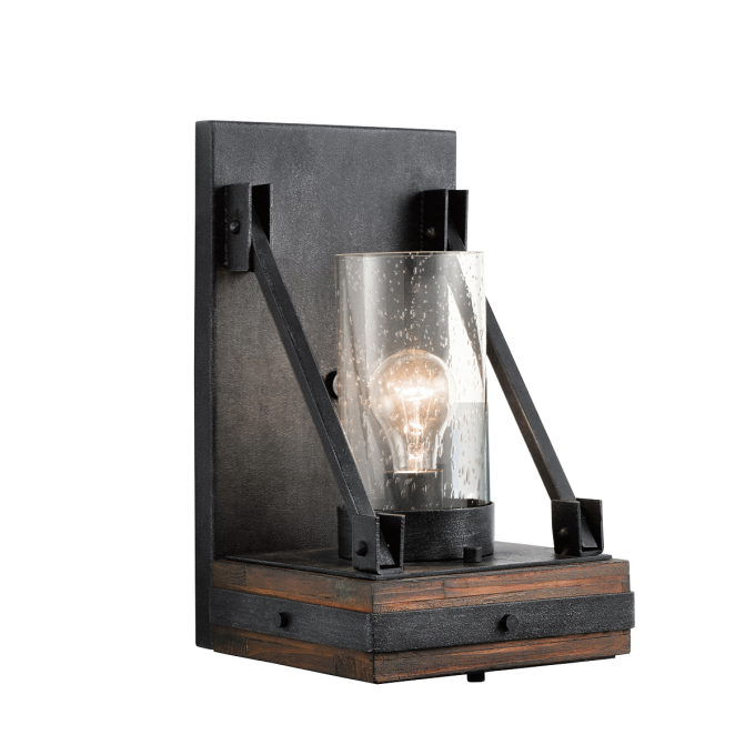 Wonderful Colerne 1 Light Wall Sconce By Cardello Lighting And Decor For Home Ideas