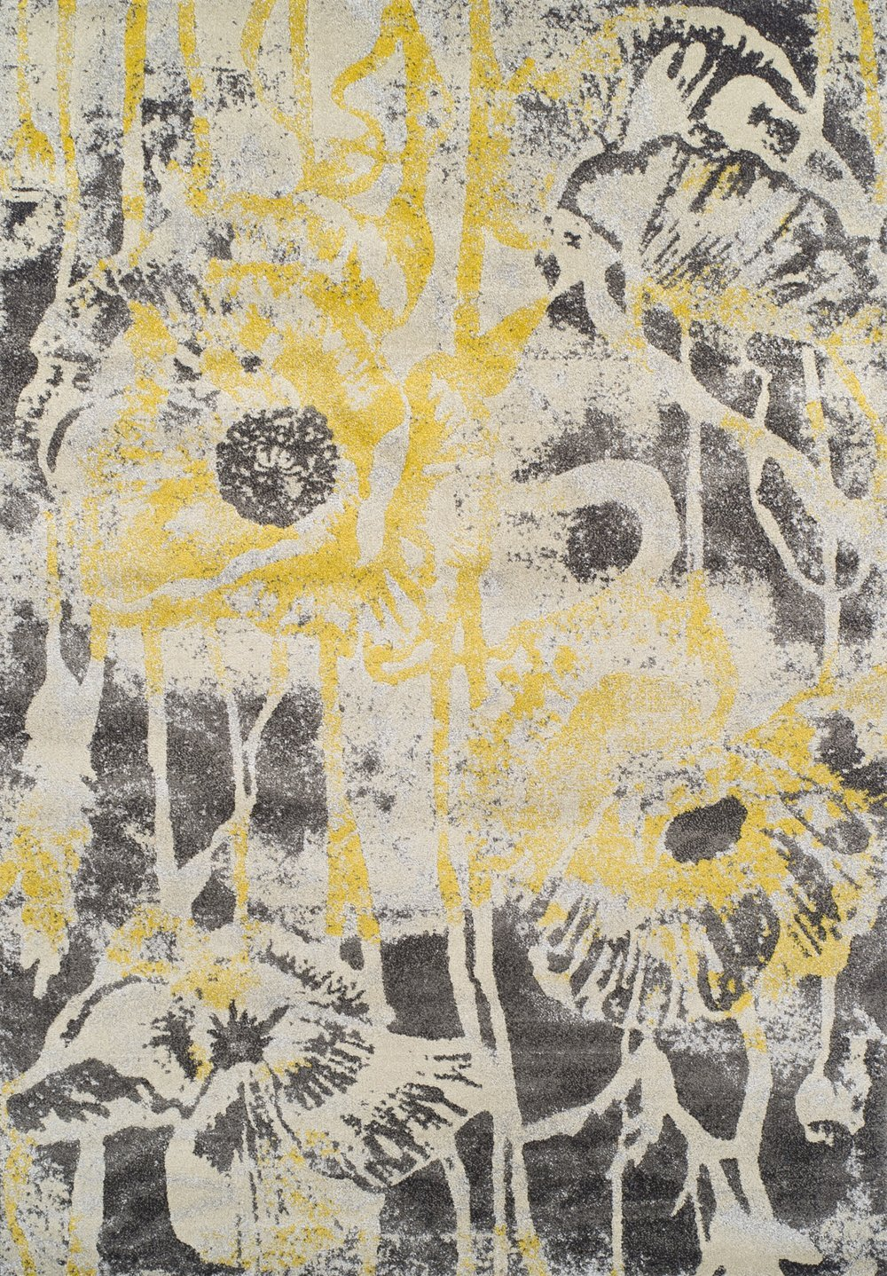 wonderful dalyn rugs in abstract flower motif design for floor decor ideas