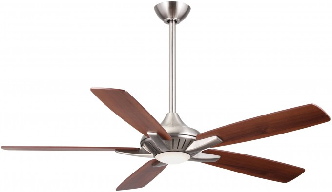 Wonderful Fan Ceiling With Five Blade Slinger And Light By Cardello Lighting And Decor For Home Ideas