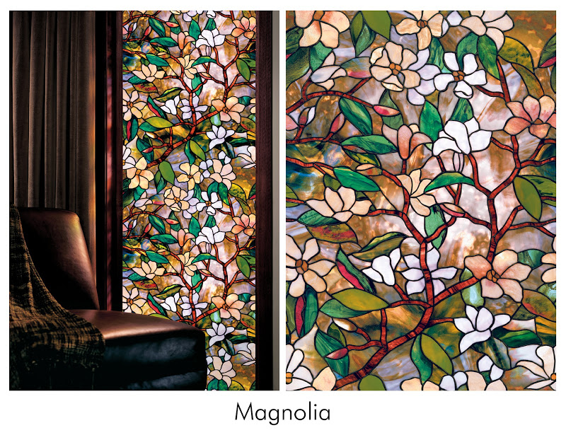 wonderful floral artscape window film for chic window decor ideas