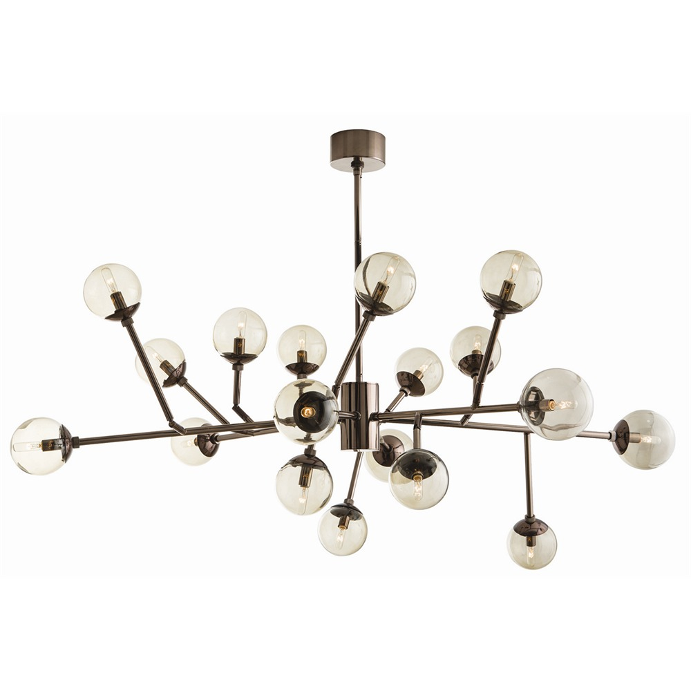 wonderful pendant with 18 lights and ball shade design by arteriors lighting for home lighting ideas
