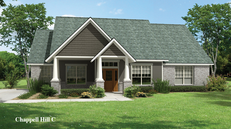 wonderful tilson homes exterior design using horizontal gray siding with glass window and brown wooden door ideas