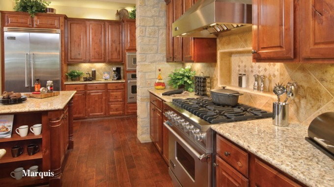 Wonderful Tilson Homes Kitchen Design With Kitchen Cabinet And Stove On Wooden Floor Ideas