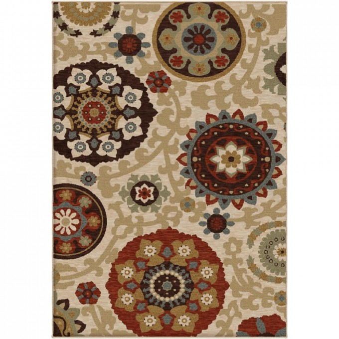 2206 2X8 Orian Rugs 2206 Harmony Morocco Khaki For Floor Decor Ideas
