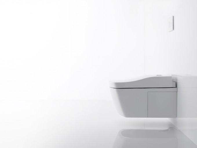 Actilight Washlet The Latest Hands Free And Self Cleaning WC By Toto Washlet For Modern Bathroom Ideas
