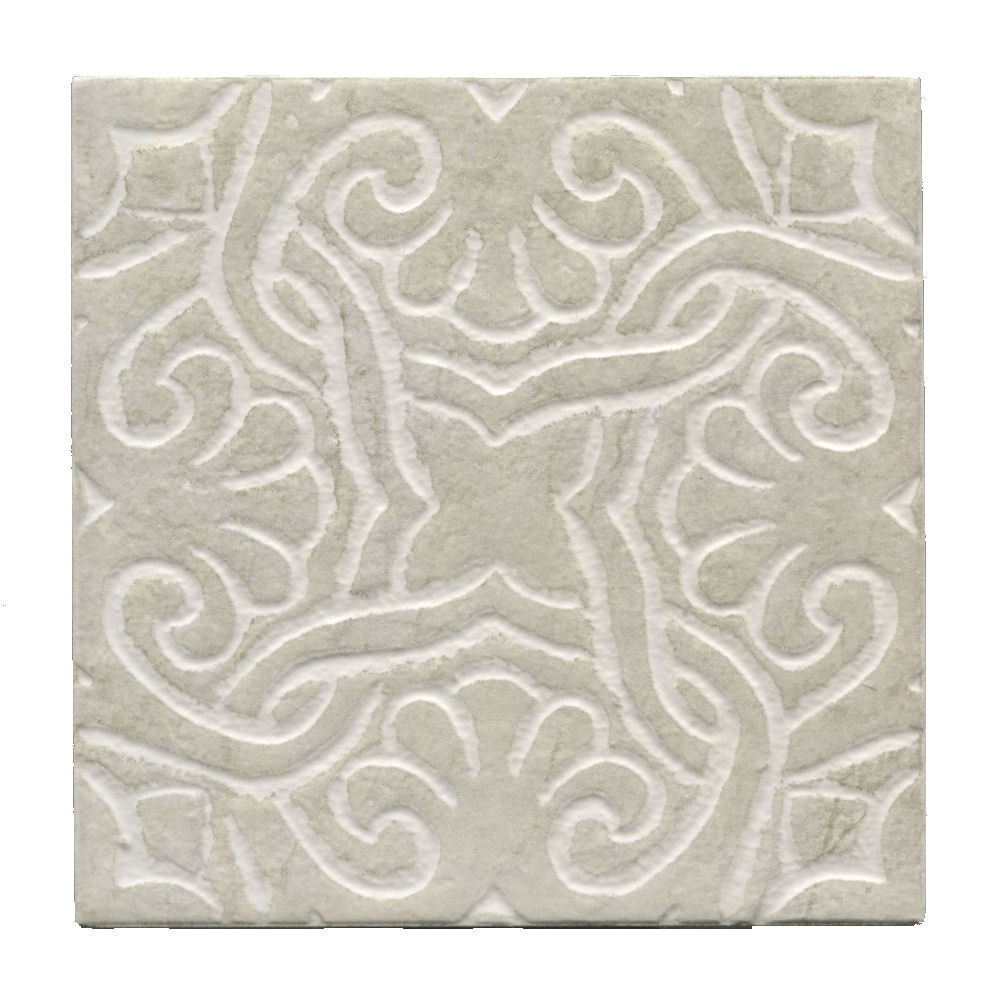 Alhambra Cadiz Relief 6x6 Vintage Wall Tile by interceramic tile for wall decor ideas