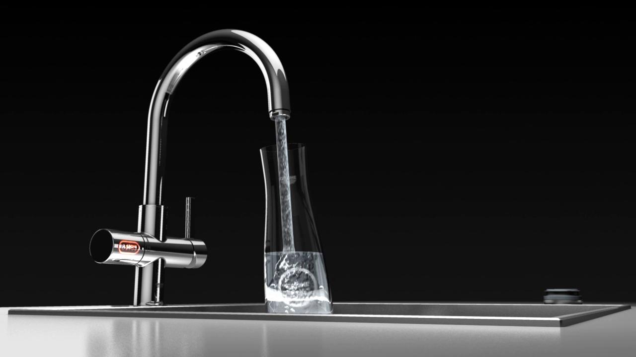 amazing grohe faucets in silver with single handle for kitchen furniture ideas