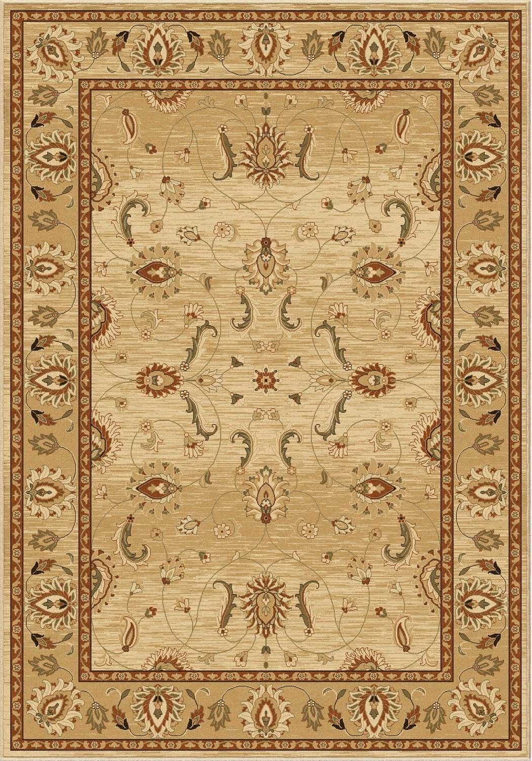 American Heirloom 1210 Mahal bisque rug by orian rugs for chic floor decor ideas