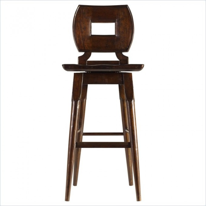 Amusing Artisan Wood Bar Stool In Barrel By Cymax Bar Stools For Home Furniture Ideas