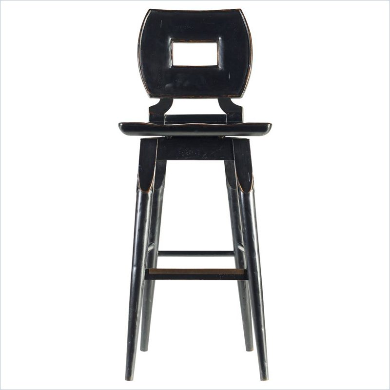 amusing Classic Portfolio Dining Artisan Bar Stool in Ebony by cymax bar stools for home furniture ideas