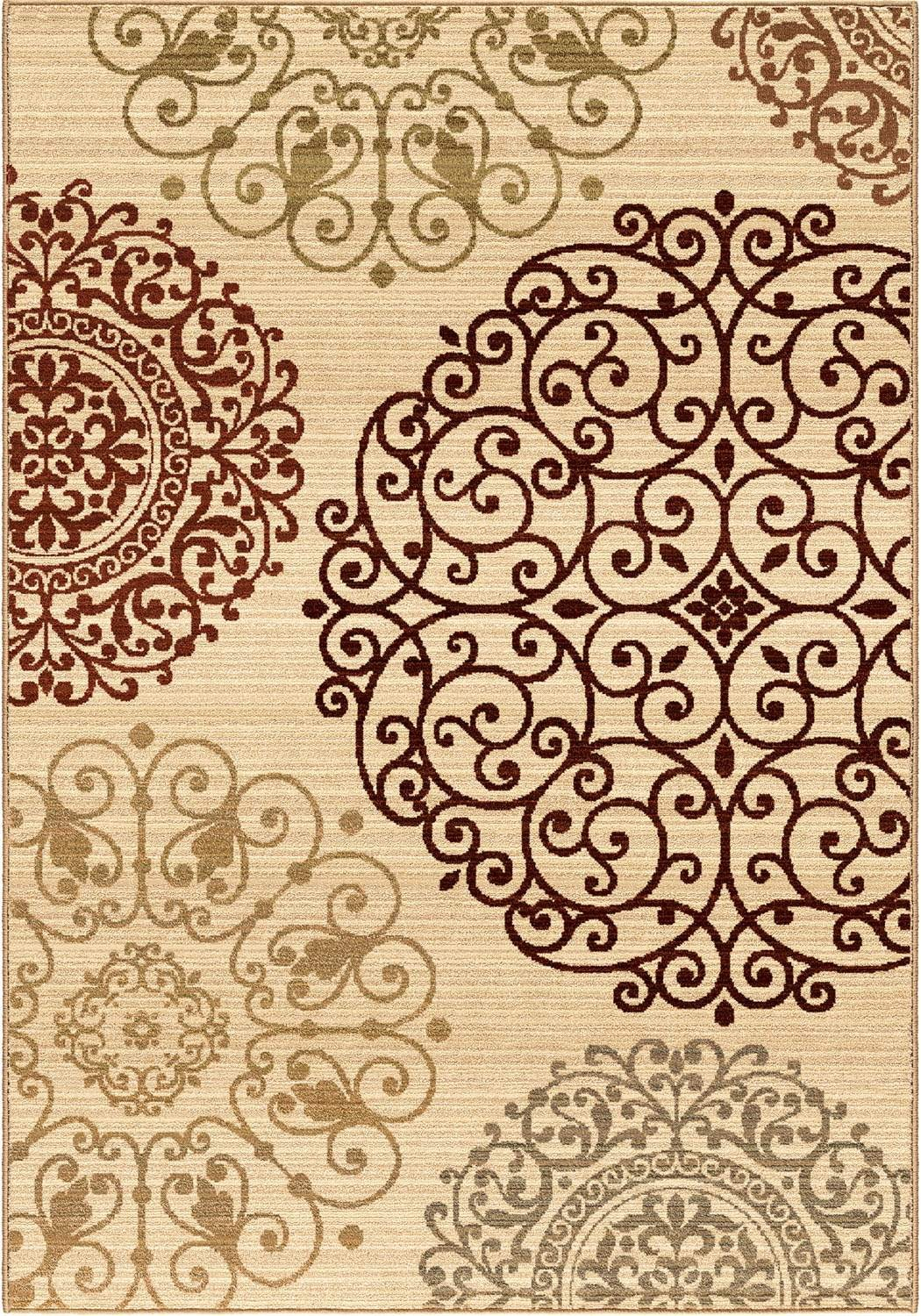 Anthology 1429 Eton White ST 4 rug by orian rugs for floor decor ideas