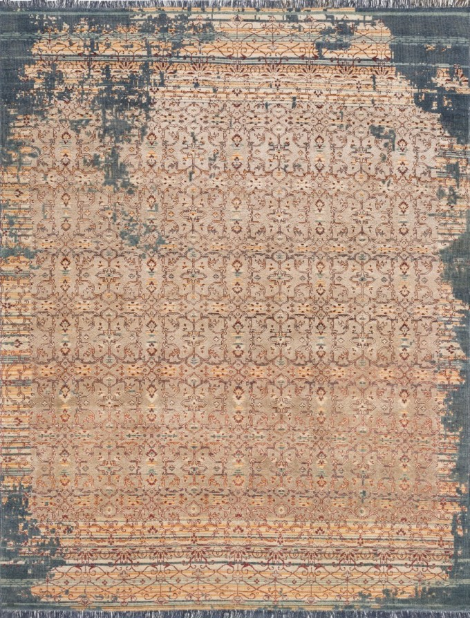 Ashton Platinum Transitional Distressed Loloi Rugs HAG 04 For Fancy Floor Decor Ideas