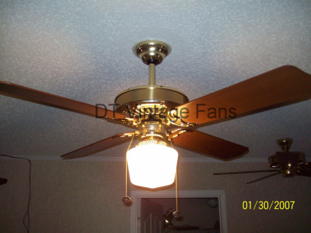 awesome casablanca ceiling fans in four wooden blade slinger with single light on white ceiling which matched with cream wall for chic home interior design ideas
