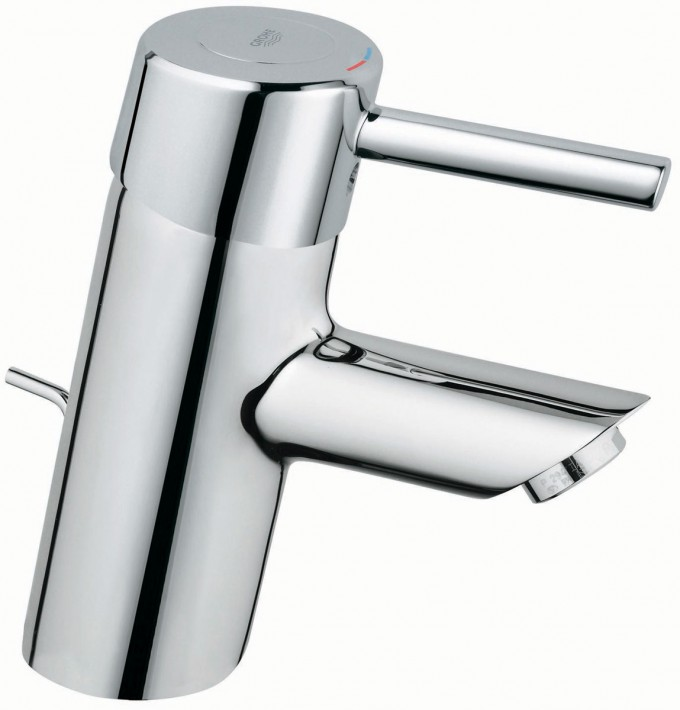 Awesome Grohe Faucets In Silver With Single Handle For Bathroom Furniture Ideas