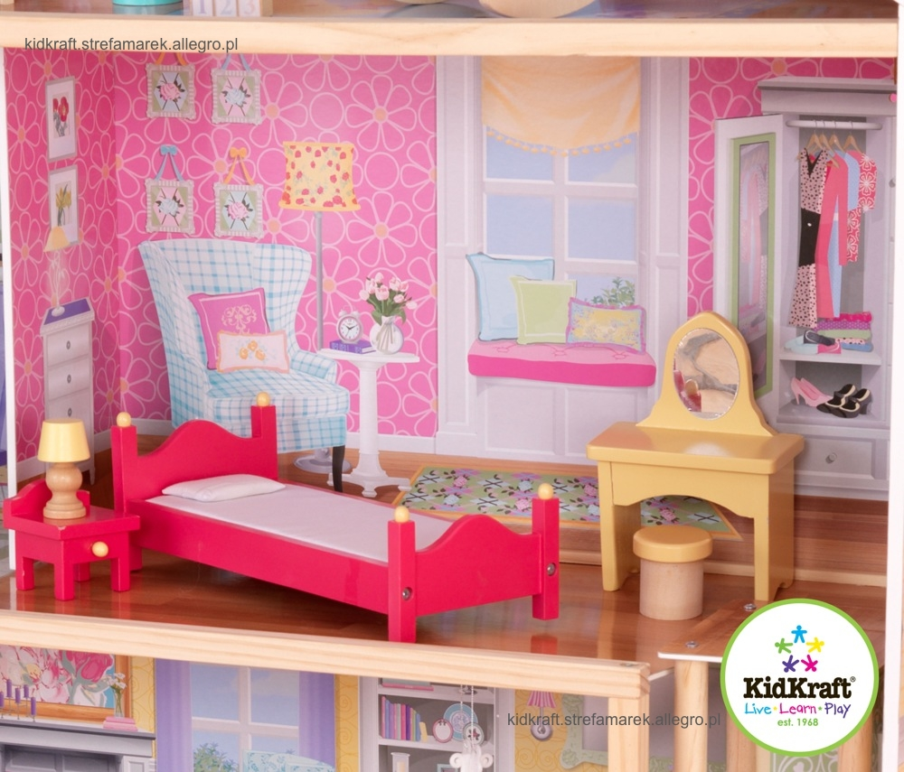 awesome kidkraft majestic mansion dollhouse 65252 filled with kidcra furniture for kids room decor ideas