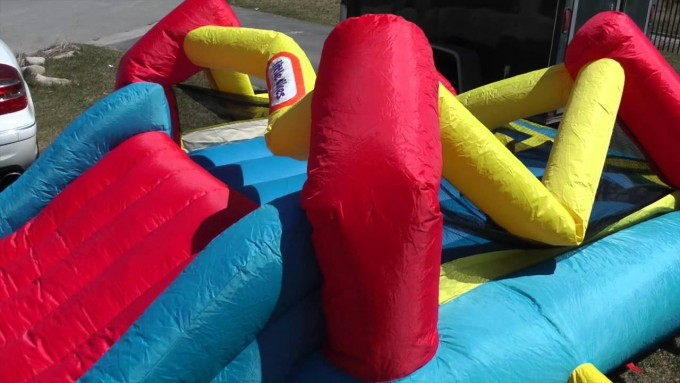 Awesome Large Little Tikes Bounce House Made Of Caoutchouc For Play Yard Ideas
