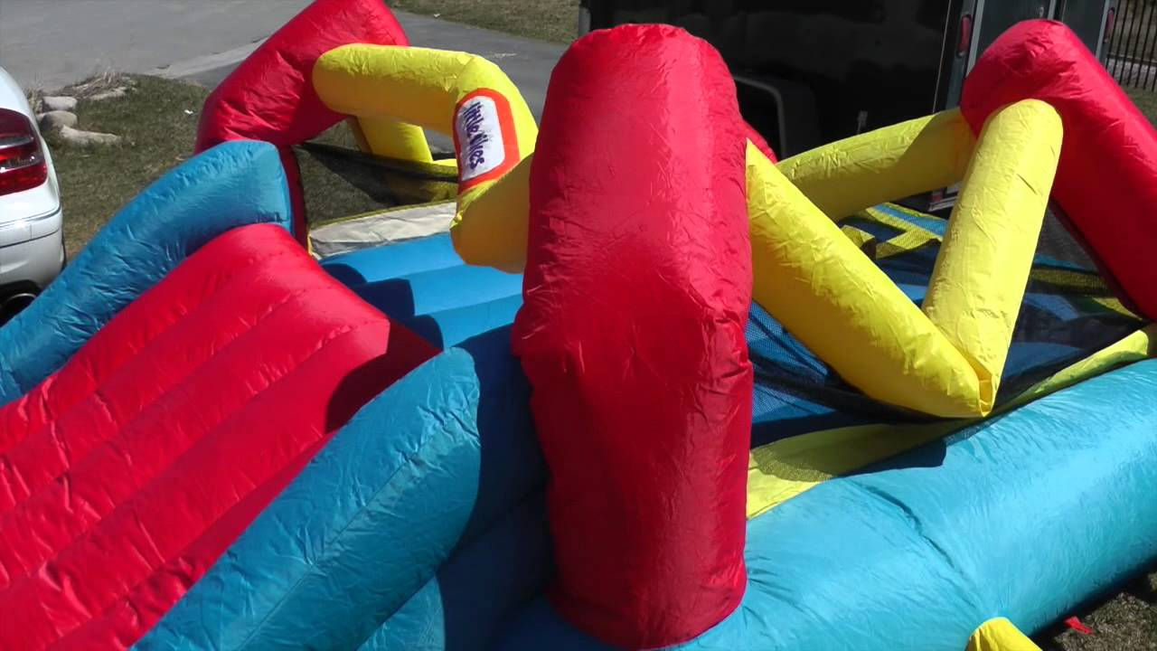 Fancy Little Tikes Bounce House For Play Yard Ideas: Awesome Large Little Tikes Bounce House Made Of Caoutchouc For Play Yard Ideas