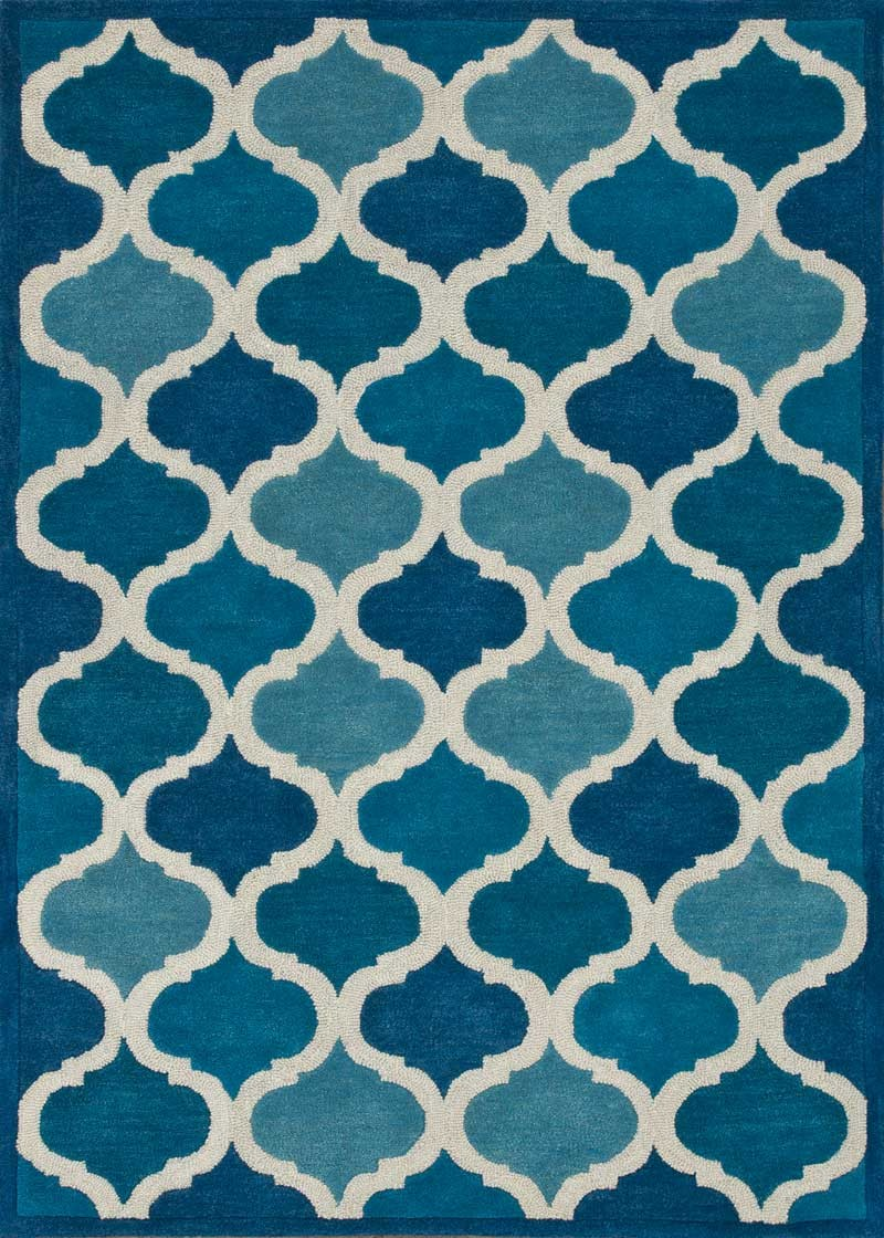 awesome loloi rugs in blue and cute motif design for floor cover ideas