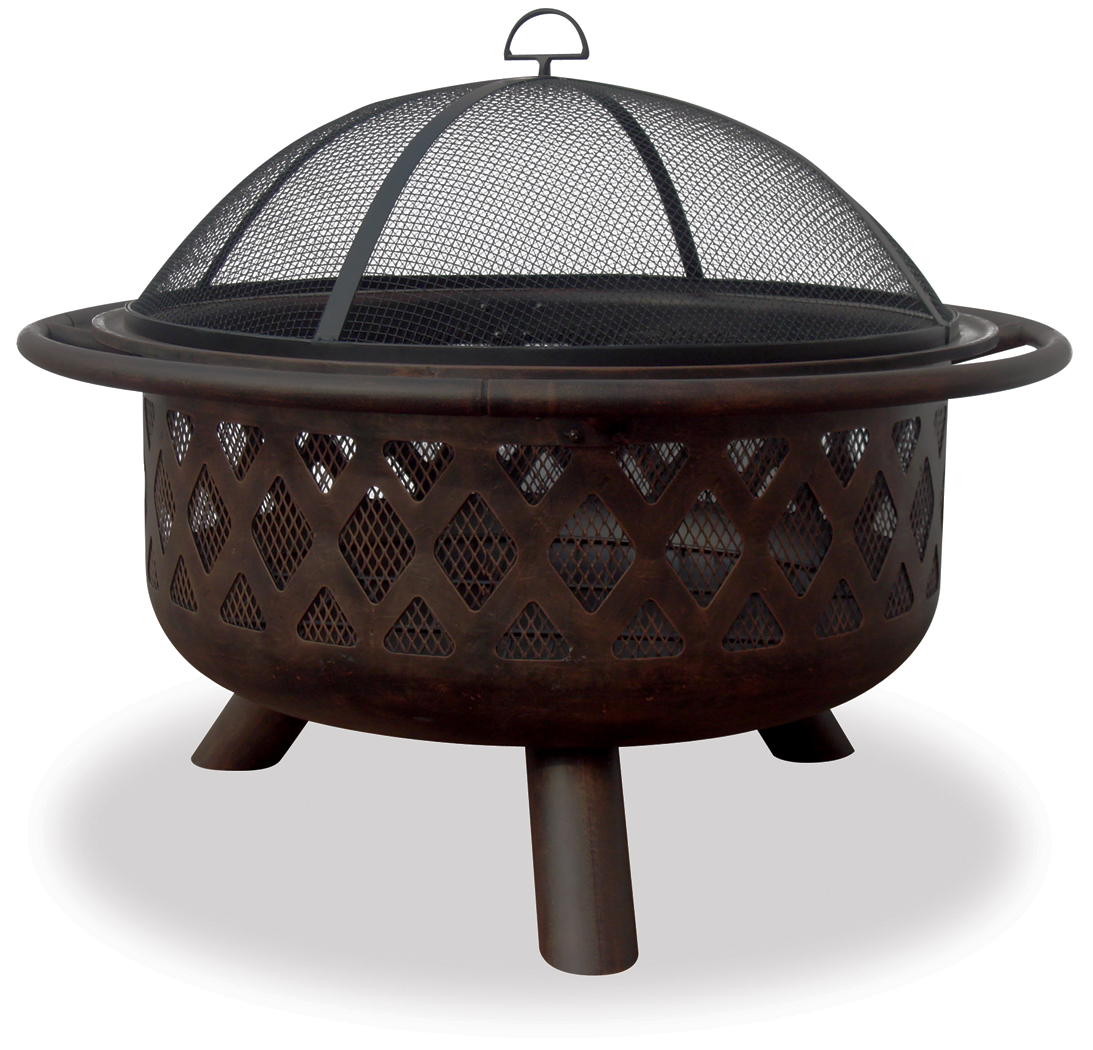 Awesome Oil Rubbed Bronze Firebowl By Chiminea For Patio Furniture Ideas