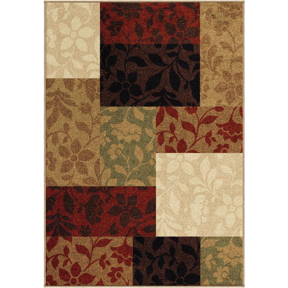 awesome orian rugs in rectangle shape and floral pattern for floor cover ideas