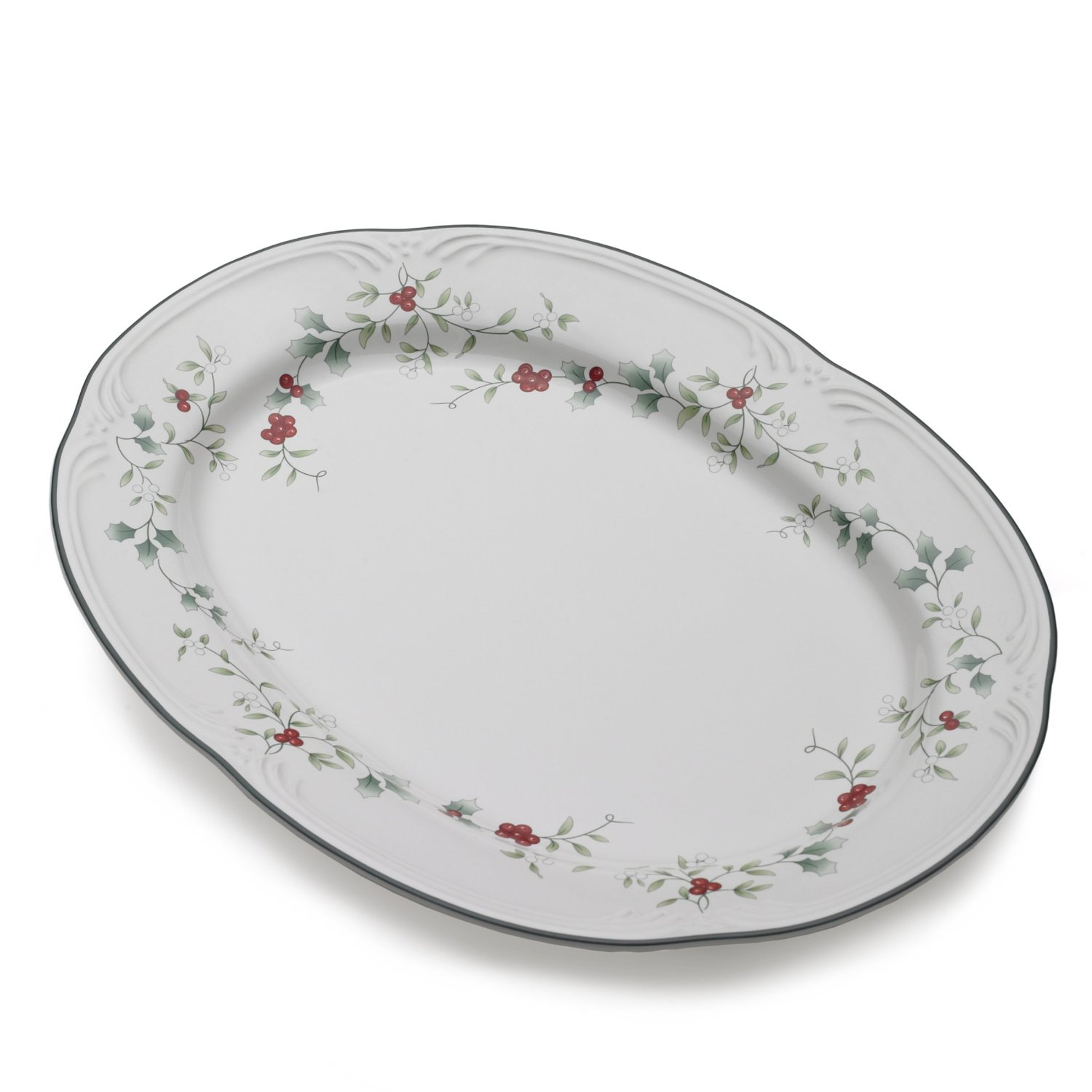 awesome Pfaltzgraff Winterberry Oval Vegetable Bowl Open for serveware ideas